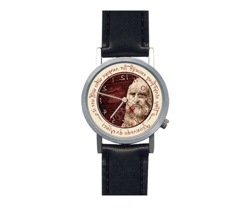 Leonardo da Vinci's Backwards watch