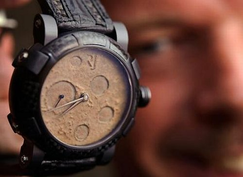 Watches made from spare space parts