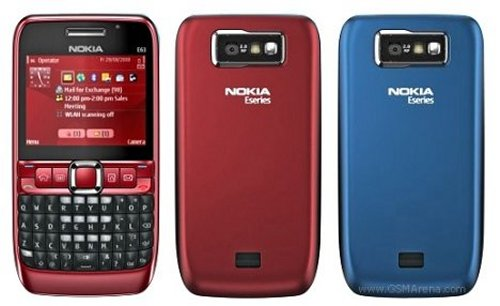Nokia E63 now available