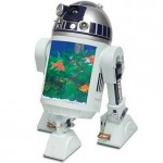 R2-D2 Aquarium with built-in periscope