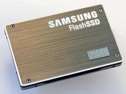 Samsung 256GB SSD storage drive
