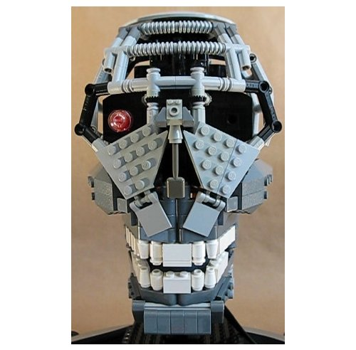 Talking Terminator Head