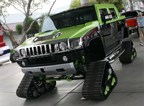 Hummer Tank will crush you