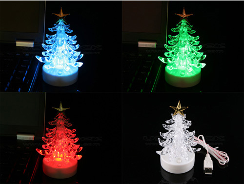 USB Musical Christmas Tree for your office desk