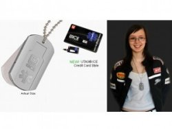 U-Tag Ice Digital Dog Tag holds your medical info