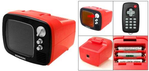 Retro TV Game Show Alarm Clock with remote