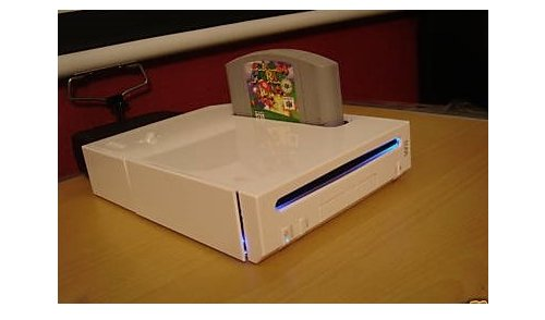 Wii64 is one crazy backwards mod