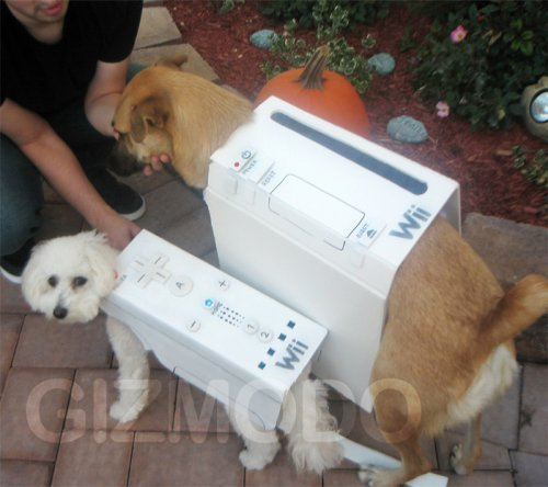 Halloween Wii Dogs look pretty awesome