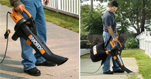 TriVac blower/mulcher/vacuum makes rakes obsolete