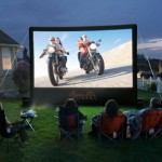 Open Air Cinema Inflatable Projection Screen