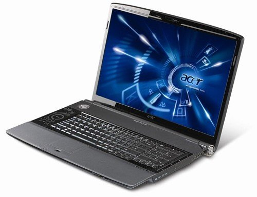 Acer Aspire 8930G quad-core laptop