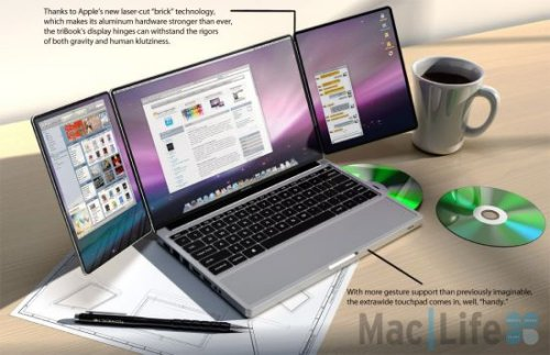 Apple triBook concept: the future of MacBooks?