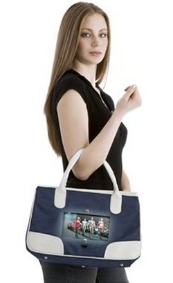 BagTV is a lady bag with a TV