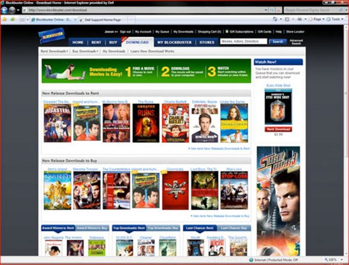 Blockbuster OnDemand download service coming to Blu-ray players