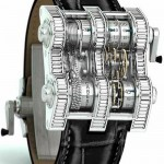 $400K Cabestan Winch Tourbillion Watch has a chain drive