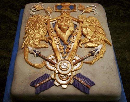 Warcraft Cake