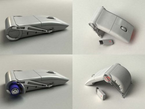 Clamshell Mouse concept is no Arc Mouse