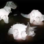 ThinkGeek dinosaur lamps are great for geeky gift giving