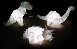Dinosaur Lamp