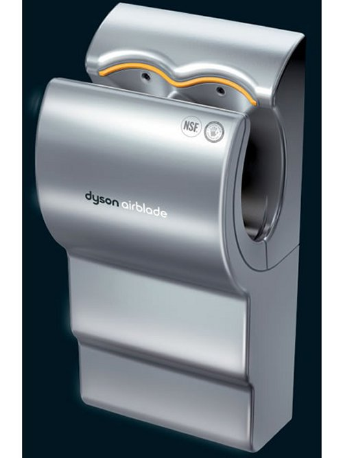 Dyson Airblade drys your hands in 10 seconds
