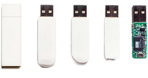 Eraser flash drive erases itself