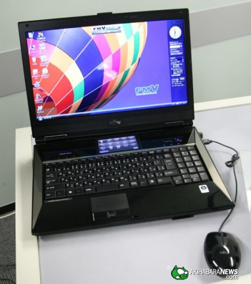 Water-cooled Fujitsu LifeBook laptop