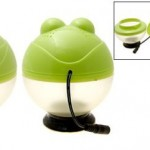 Car USB Frog Air Purifier adds some dork to your dashboard