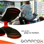 Gamerox Game chair keeps kids moving