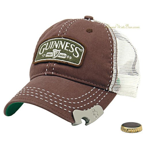 Guinness Bottle Opener Cap makes getting drunk easy