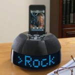 iDesign SongView iPod alarm clock
