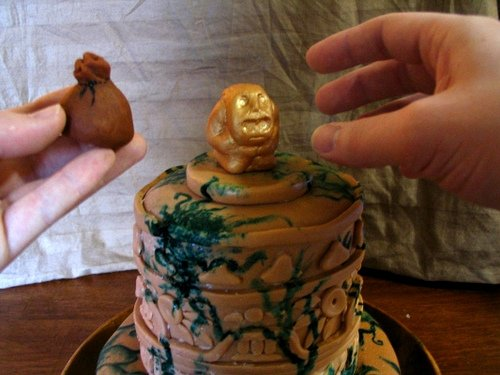 Indiana Jones Golden Idol Cake