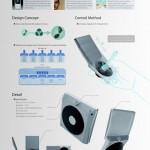 JukeBrick Portable Audio concept