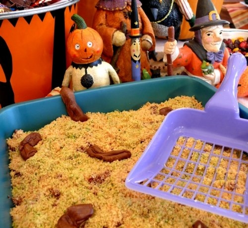 Kitty Litter Geek cake