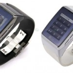 LG's GD910 wrist phone with touchscreen & camera