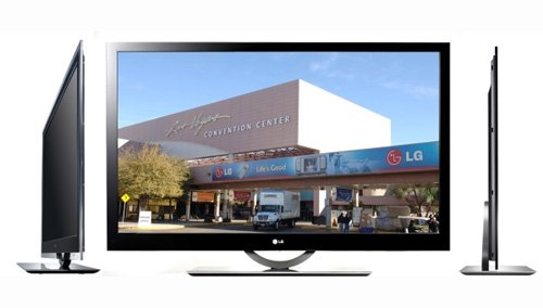 LG to unveil slimmest LED LCD at CES 2009