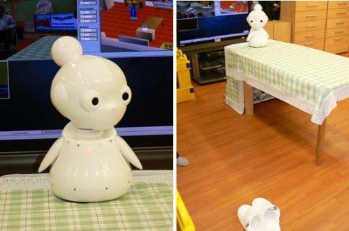 Mamoru, Japan's creepy robot assistant for the eldery