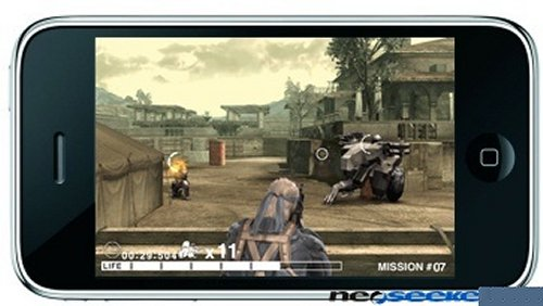Metal Gear Solid for the iPod