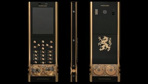 Mobiado Professional 105GMT Gold, mechanical watch phone