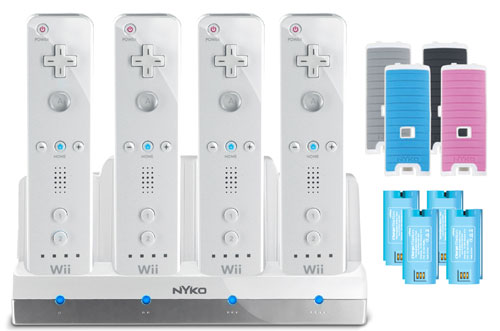Nyko Charge Station Quad for Nintendo Wii