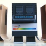 Papercraft retro game consoles fit for any geeks desk