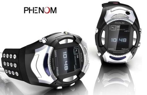 Phenom SpecialOps cellphone watch