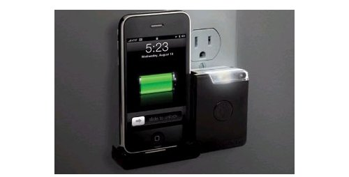 reviteLITE charges your iPhone, wards off monsters