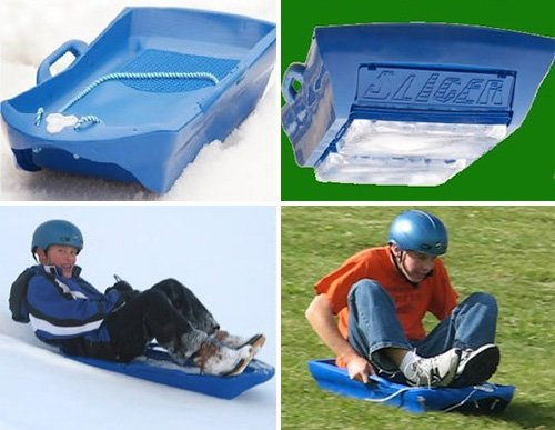 Ice Meister Slicer, the all-season sled