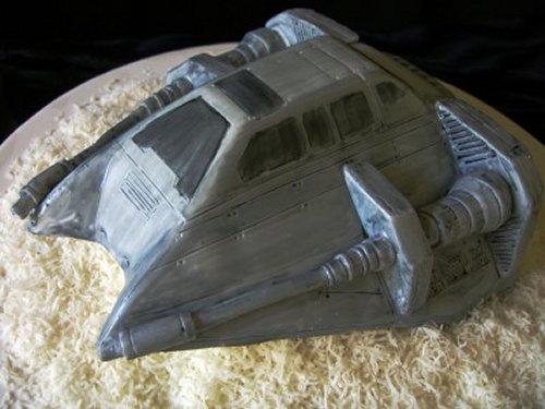 Snowspeeder Cake