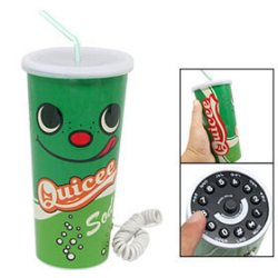 Soda cup phone