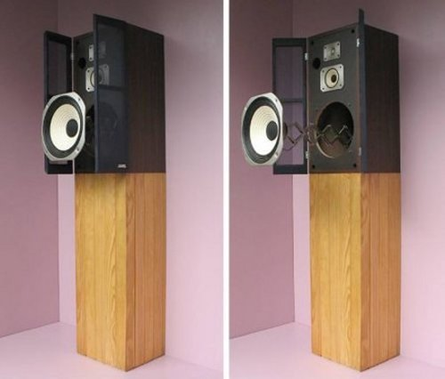 Cuckoo clock speaker rocks you out of bed