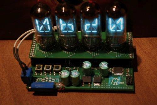 Super Electrofluorescent Profanity Machine swears, tells the time