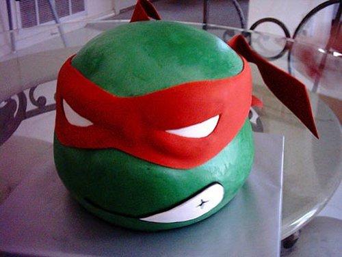 Teenage Mutant Ninja cake