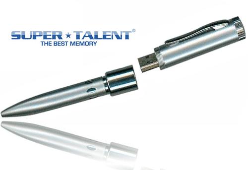 Super Talent GP 2GB 2-in-1 USB2.0 Flash Drive