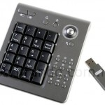 USB Wireless Keypad for portable number-crunching